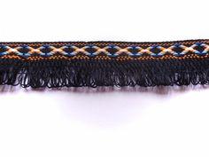 Quastenborte & Fransenband - Fransenborte - Indianerborte - Fransenband - 22 mm - ein Designerstück von JonaLina-Deneke bei DaWanda