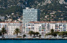 Toulon, une renaissance sous le signe du design Renaissance, Corsica, Ciel, Multi Story Building, Architecture, Photos, Design, Pom Poms, Gray