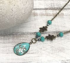Loving Teal! by Marcia on Etsy #promotingwomen
