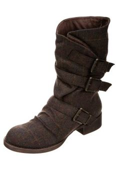 Found them!!! Bought them!! Love them!!!  theJust got to find these cheaper than £75. The black version is.. KASBAH - Boots - brown