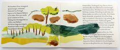 En overal vogels, pagina 3-4, Extramadura