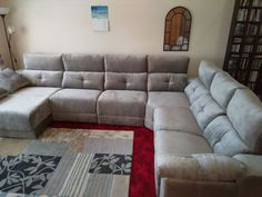 This modern sofa features electric recliners with adjustable headrests, storage under chaise and inside sofa arm provides additional practicality. Delivered to our clients in Cambridge. Modern Sofa, Modern Bedroom, Contemporary Furniture, Recliners, Sofas, Leather Bed, Sofa Design, Cambridge, Electric