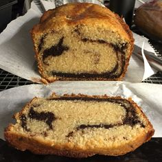 Week 3: Brown Sugar Marble Pound Cake This recipe was super easy and the beautiful marble pattern when sliced is so fun!