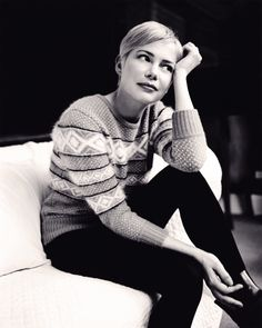 i'm convinced it's impossible for michelle williams to not be the coolest ever.