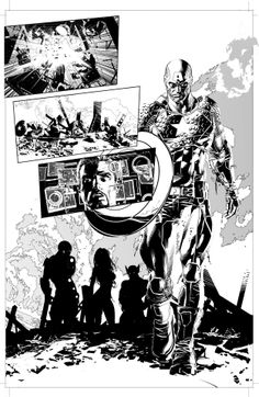 Original Sin #6 - Captain America by Mike Deodato Jr. *