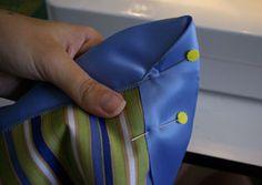 blanket with blanket binding tutorial