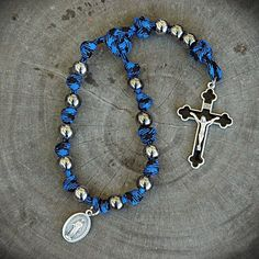 z- Custom One Decade LEO Rosary for Paul.