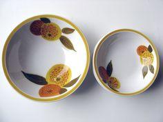 Ceramic BowlsSet of 5Made in JapanEsperanto by MarketHome on Etsy, $34.00