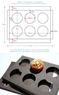 Cupcake box tutorial on Pinterest