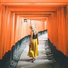 The Complete Tokyo Travel Guide | City Guides | Japan Travel Itinerary | Kyoto Fushimi Inari Shrine Orange Walkway