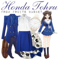 [Fruits Basket] Honda Tohru Casual Cosplay