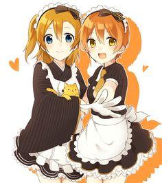 Honoka & Rin   Love Live