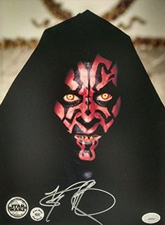 Ray Park Authentic 8 x 10 Autographed Photo Darth Maul From Star Wars Episode 1 And Snake Eyes From  @ niftywarehouse.com #NiftyWarehouse #Geek #Products #StarWars #Movies #Film