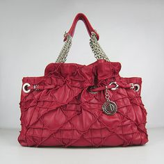 Dior lovely New Red Lambskin Bag 1816