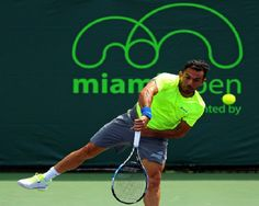 Víctor Estrella queda eliminado en primera ronda Masters 1000 de Miami