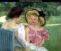 In the Garden, 1904 - Mary Cassatt - www.marycassatt.org