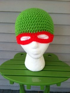 TMNT Hat All sizes by JHCrafter on Etsy, $12.00