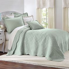 Florence Oversized Cotton Bedspread Collection | Bedspreads | BrylaneHome