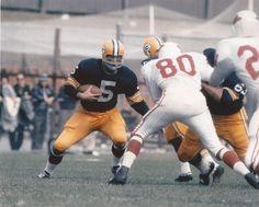 Paul Hornung GB Green Bay Packers vs Cardinals Running Unsigned 8x10 Photo | eBay