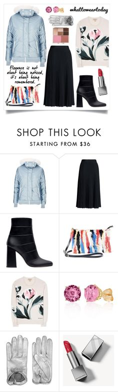 """Perfect Puffer Jackets"" by li-lac7 on Polyvore featuring мода, Topshop, Canvas by Lands' End, Zara, Steve Madden, Burberry, Belk & Co., Causse и Stila"