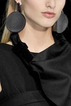 fall fashions, armani fall, black earring, fashion detail, fashion looks
