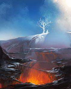 Tree of Light by sakimichan on DeviantArt