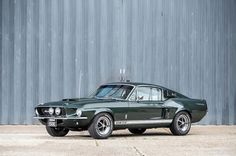 """aren't exactly common. Examples kept at the company are even more rare, and designated """"engineering"""" cars are rarer still. This 1967 Ford Shelby Mustang is among the latter. One of only 11 built that year, chassis number Ford Mustang Shelby Gt500, 1967 Shelby Gt500, Ford Shelby, Mustang Cars, Ford Mustangs, Ford Classic Cars, Classic Mustang, Car Wheels, Cars And Motorcycles"""