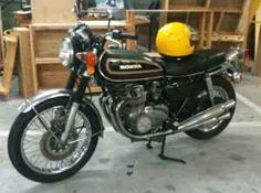 1976 Honda CB550-drove to the picket line in '84