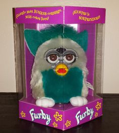 GO FURBY - #1 Resource For Original Furby Fans!: Generation / Series 8 Green Bean Original Furby SU...