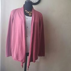 Nwt Comfy swing cardi New never worn. Ultra comfy cotton cashmere blend. Looks good but feels even better. Great for casual.days. Jessica London Sweaters Shrugs & Ponchos