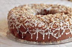 <3 Marionberry Cherry Crumb Cake~A moist, tender coffee cake