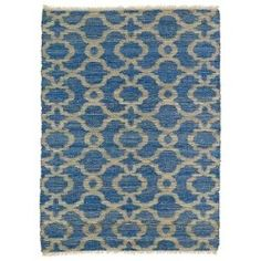 Kenwood Blue KEN07 Rectangular: 5 Ft. x 7 Ft. 9 In. Rug
