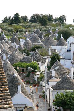 More Trulli houses in Alberobello, Italy