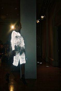 Licht // Glow in the dark // Craig Lawrence S/S 2013 Aw 2017, Knitwear Fashion, Declaration Of Independence, The Struts, Pop Culture, Sequin Skirt, Women Wear, Knitting, Sweaters