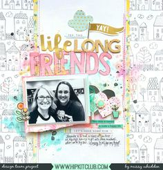 Happy Monday, everyone! Missy here again, and I'm sharing another layout using the 2017 March Hip Kits. Today we're focusing on Creative Titles. I was immediately drawn to all those …