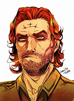 Bigby Wolf  Oh my god that is f****** adorable. My exact words when I saw this.
