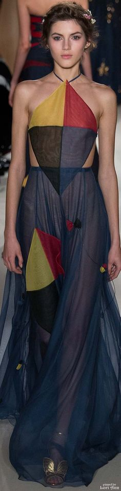 Valentino Couture Spring 2015 Really like this for M. Reminds me of the hanged man in the tarot, or the Fool in playing cards.