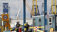 UK Officials: 35 People Found in Shipping Container