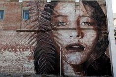 Teresa Oman by Rone, Worcester Street, Christchurch, New Zealand
