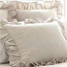 Pine Cone Hill Wilton Decorative Pillow and shams Farmhouse Style Bedding, Farmhouse Quilts, Farmhouse Chic, Salvaged Furniture, Farmhouse Furniture, Pillow Shams, Bed Pillows, Duvet, Pillow Cases