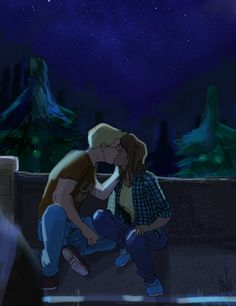 That kiss on the rooftop