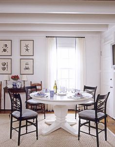 Dining Room with Vintage Details