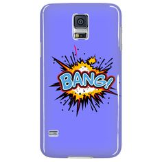 BANG! Galaxy S5 cell phone case (Blue)
