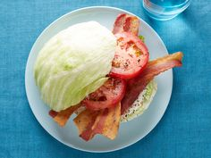 Iceberg BLTs : This bread-free BLT is made for bacon lovers. Creamy, cool, refreshing, and packed with crispy bacon and still healthy, it's like a summer salad you can enjoy on the go.