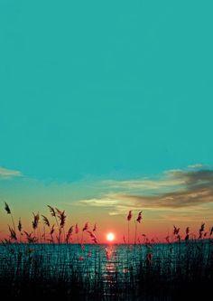 sunrise...or sunset
