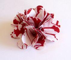 fabric flower diy |
