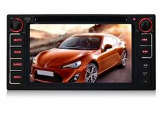 Pumpkin Car Stereo Pure Android 4.2 Two-Din Universal DVD GPS Navigation Head Unit with 6.2 inch Capacitive Touch Screen DVR/3G/ WIFI/ODB2/7 Color Button Indicator For Toyota