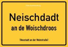 Neischdadt (Neustadt) - Pfälzisch Postkarte