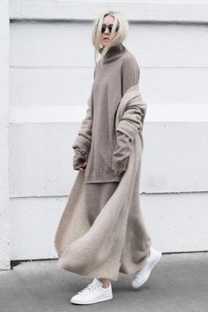 Cozy knits for winter that look so sleek at the same time.