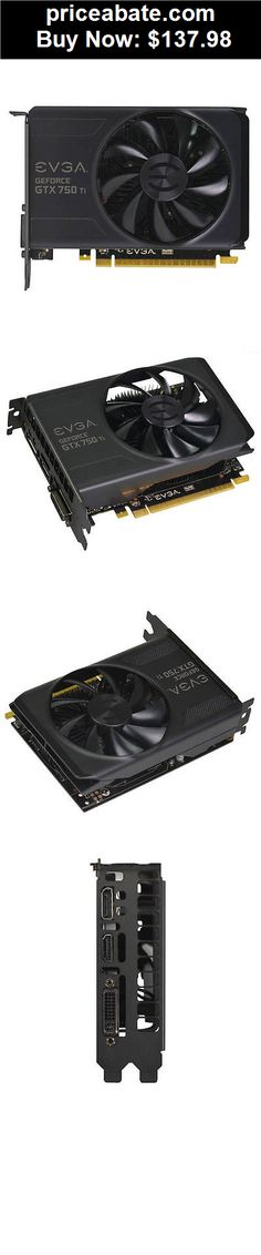 Computer-Parts: EVGA NVIDIA GeForce GTX 750 Ti 2GB GDDR5 DVI/HDMI/Graphic Card - BUY IT NOW ONLY $137.98